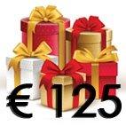 Cadeaubon 125 euro