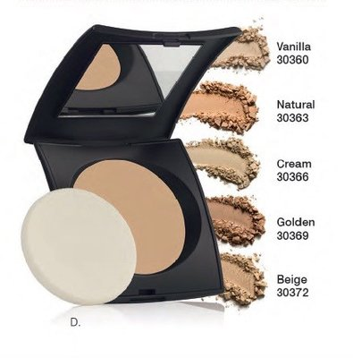 Two-on-One Powder Make-up