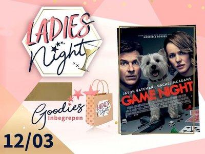 Game Night / Lady's night / Genk 12 Maart 2018