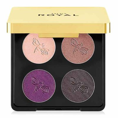Royal Luxury eyeshadow Quad / Purple Reign