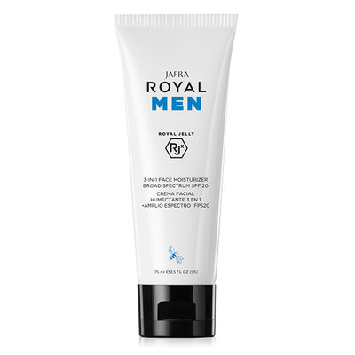 Men 3-in-1 Face Moisturizer Broad Spectrum SPF 20