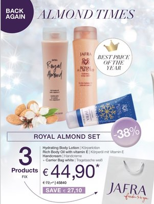 Royal Almond Set Back Again