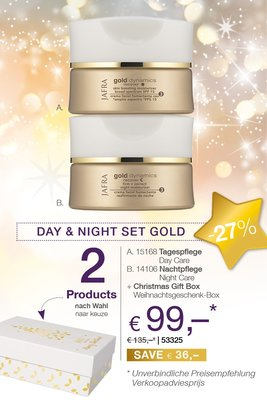 Day & Night Set Gold