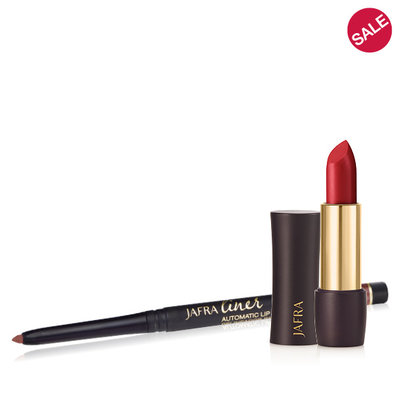 Jafra Luxury lipstick + lip liner