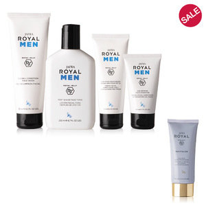 Royal Men set + optioneel Volcanic Micro Polish Mask aan -50%