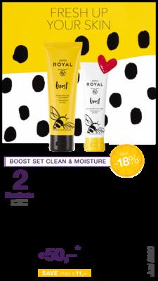 Boost Set Clean & Moisture