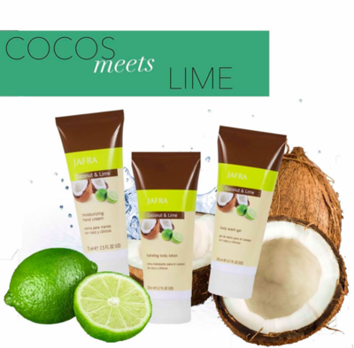 Coconut & Lime Set
