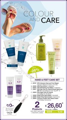 Hand & Feet Care Set