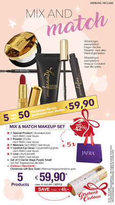 Mix & Match Makeup Set