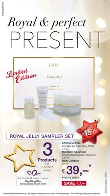 Royal Jelly Sampler Set