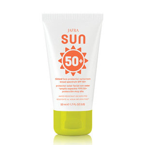 Sun Tinted Face Protector Sunscreen Sunscreen Broad Spectrum SPF 50+ -Oil-Free