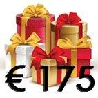 Cadeaubon 175 euro