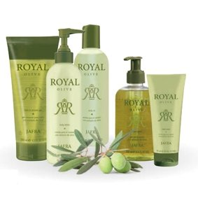 Luxe Royal Olive Body Care  Set