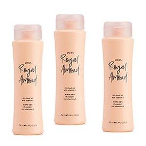 Royal Almond Body Oil Trio