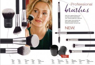 Make-up brushes naar  keuze