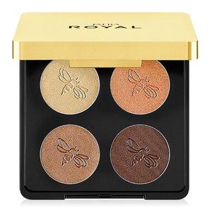 Royal Luxury eyeshadow Quad / Golden Muse