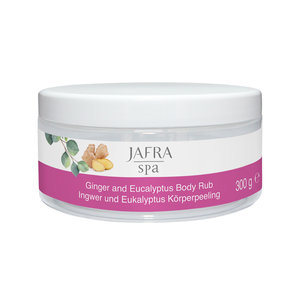 Jafra Ginger and Eucalyptus Salt Body Rub